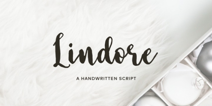 Lindore font preview