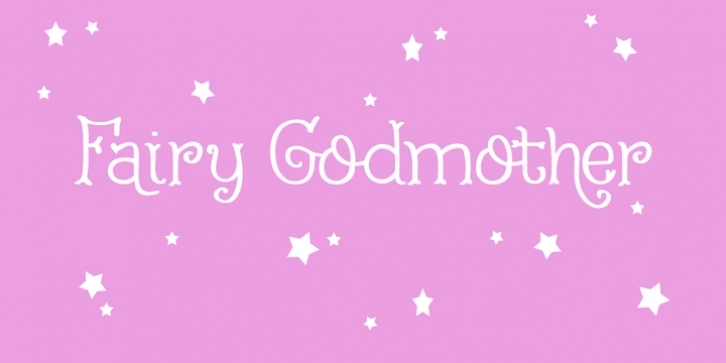 Fairy Godmother font preview