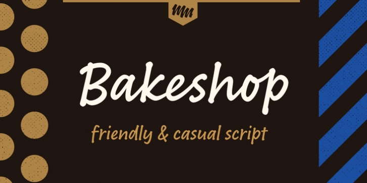 Bakeshop font preview