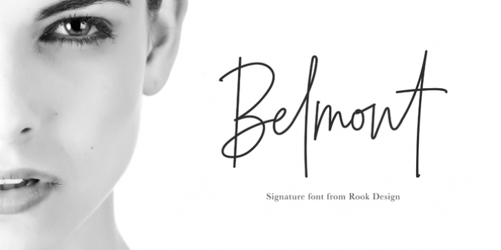 Belmont font preview