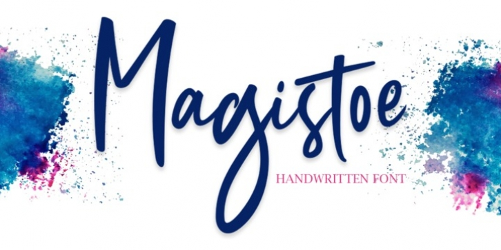 Magistoe font preview
