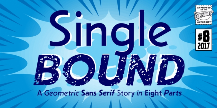Single Bound font preview