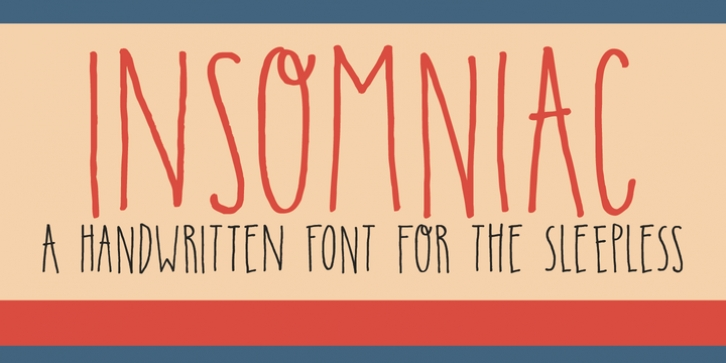 Insomniac font preview