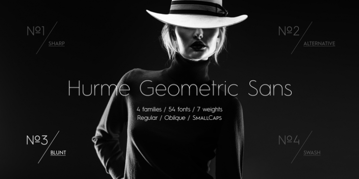 Hurme Geometric Sans No.3 font preview