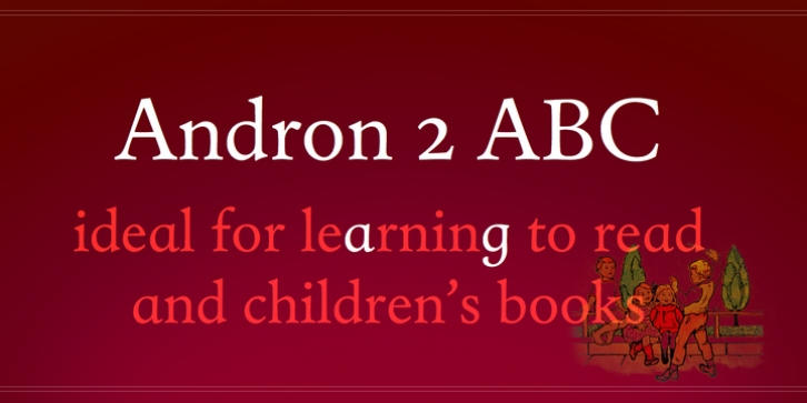 Andron 2 ABC font preview