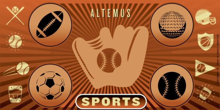 Altemus Sports font preview
