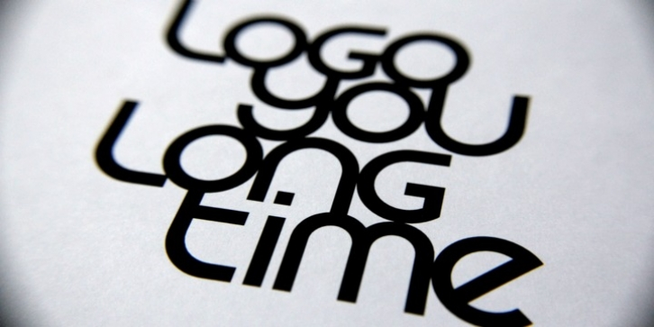 LogoYouLongTime font preview