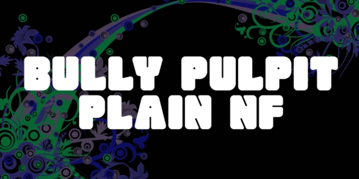 Bully Pulpit Plain NF font preview