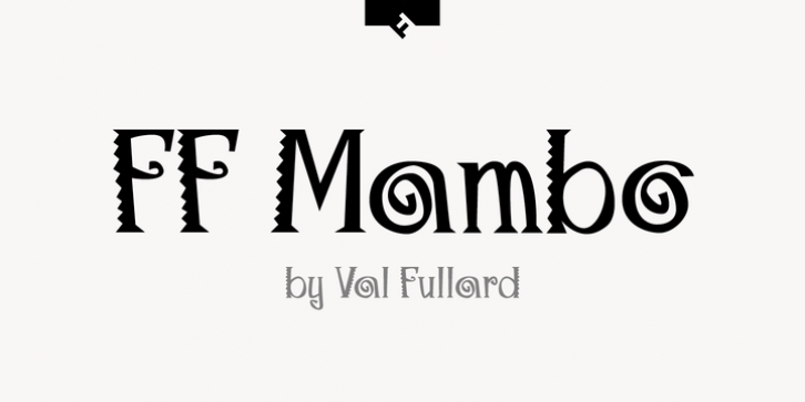 FF Mambo font preview