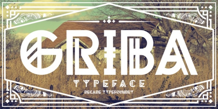 Griba font preview