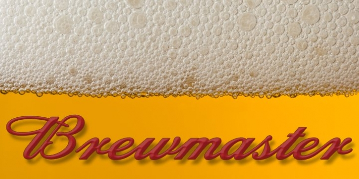 Brewmaster font preview