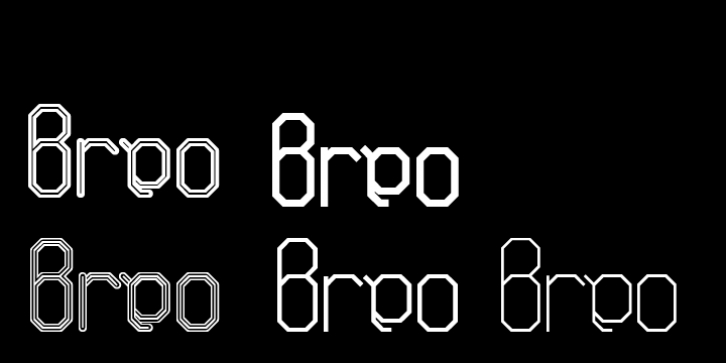 ALT Breo font preview