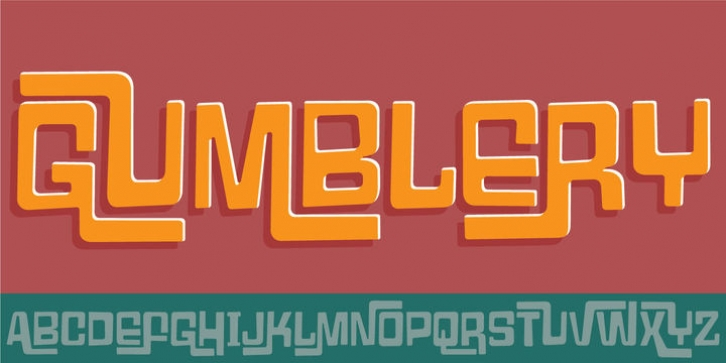 Gumblery font preview