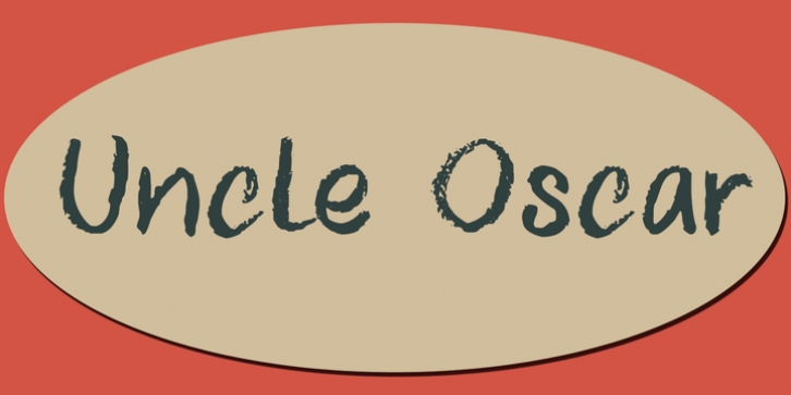 Uncle Oscar font preview