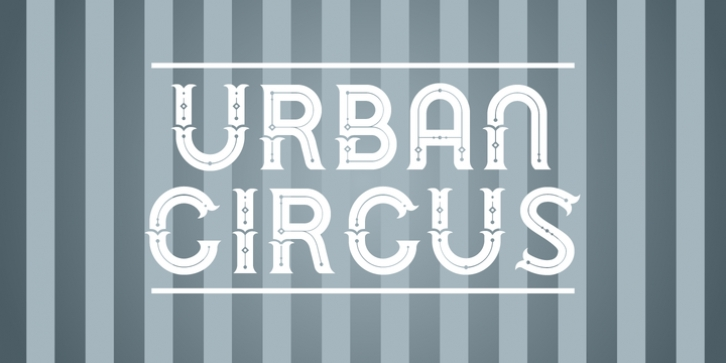 Urban Circus font preview