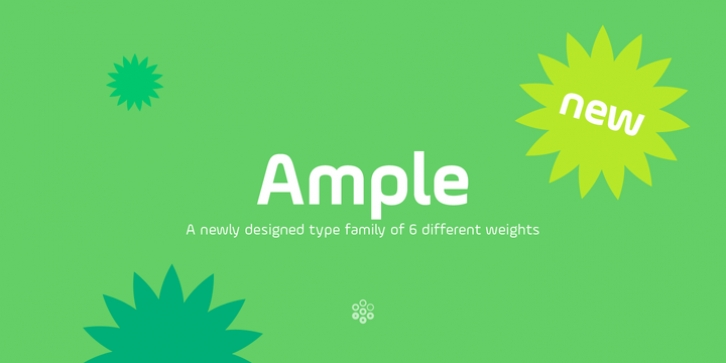Ample font preview