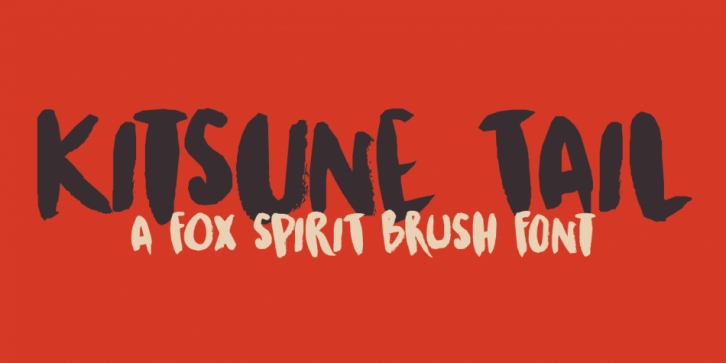 Kitsune Tail font preview