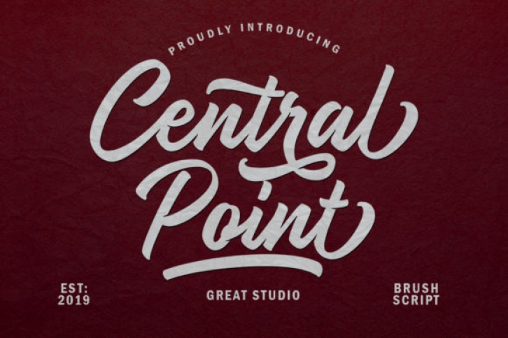 Central Point font preview