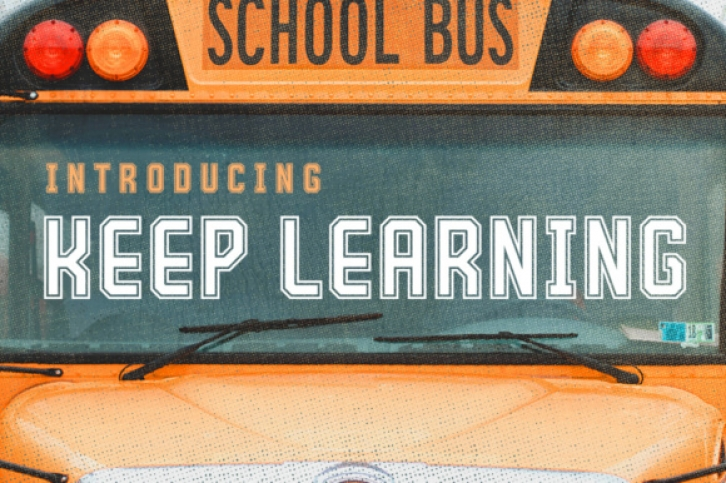 Keep Learning font preview
