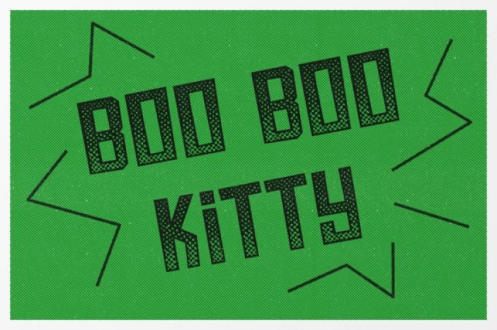Boo Boo Kitty font preview