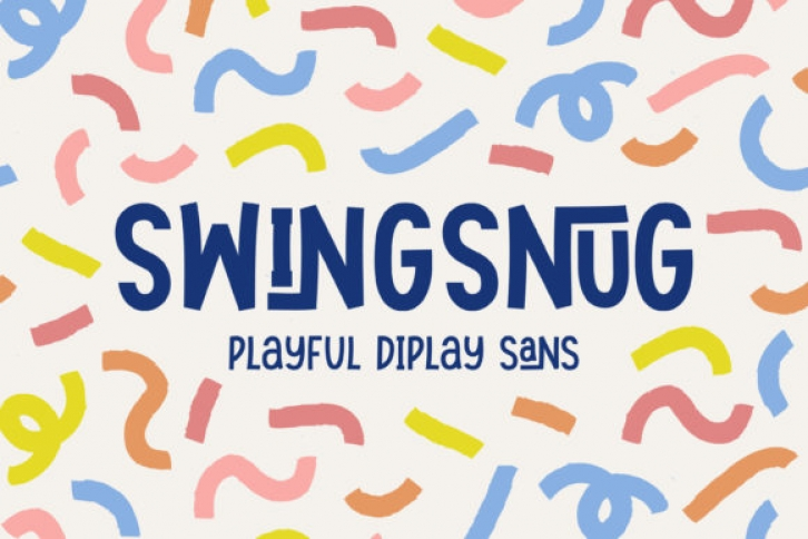 Swingsnug font preview