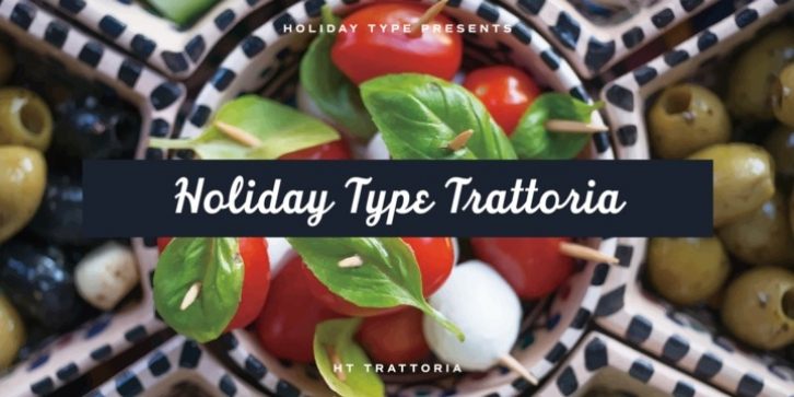 HT Trattoria font preview