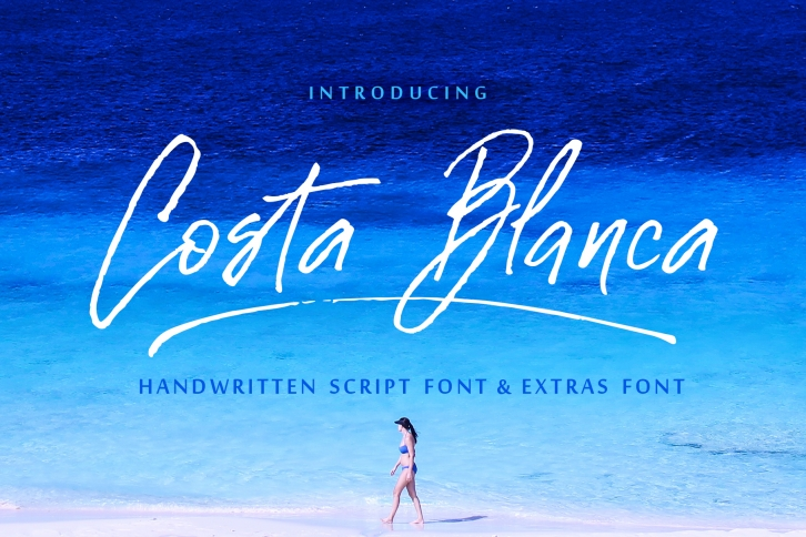 Costa Blanca font preview