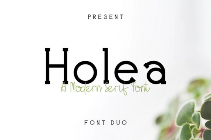 Holea font preview