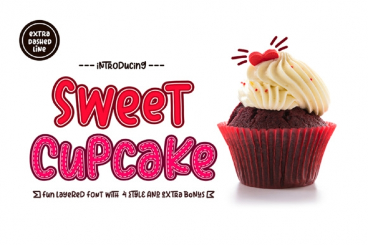Sweet Cupcake font preview