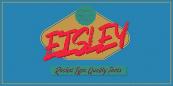 Eisley font preview