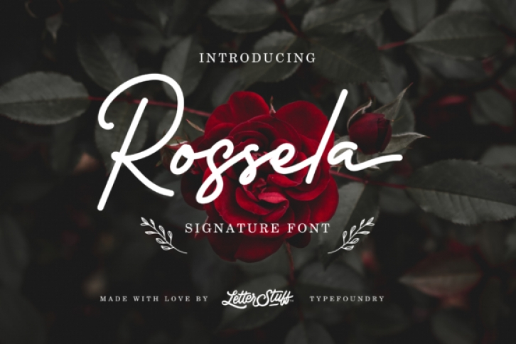 Rossela font preview