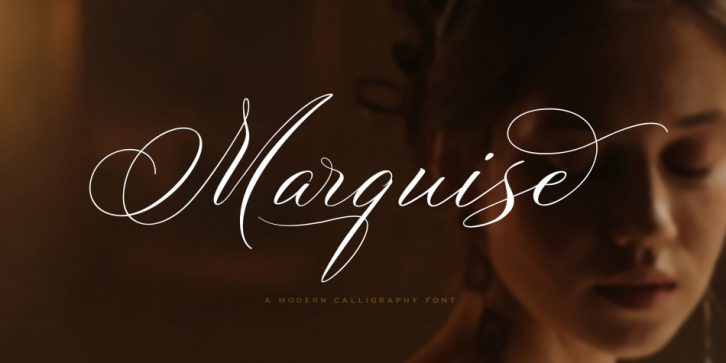 Marquise font preview