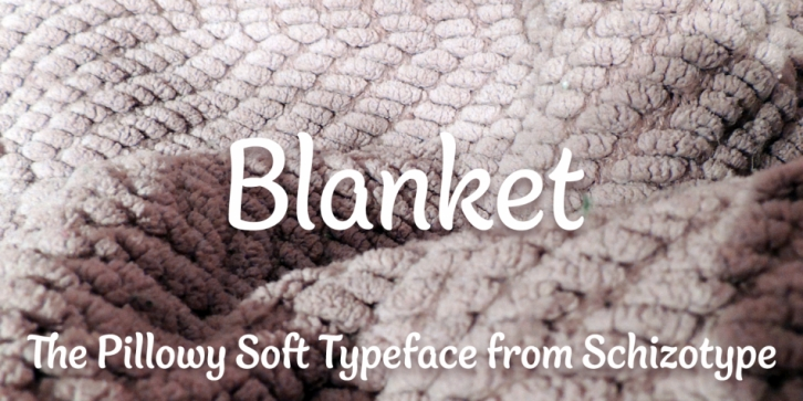 Blanket font preview