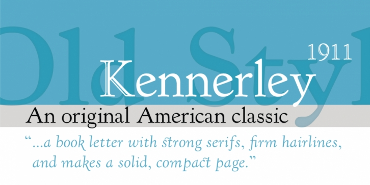 LTC Kennerley font preview