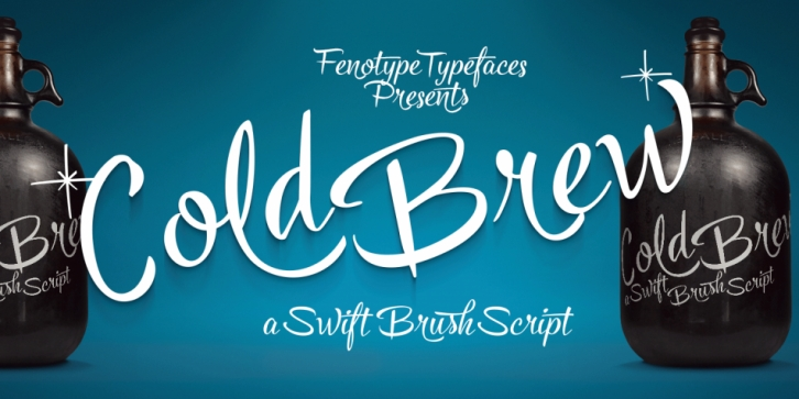 Cold Brew font preview