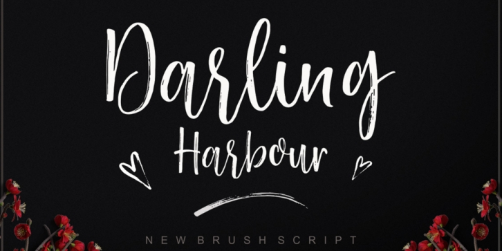 Darling Harbour font preview