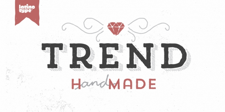 Trend Handmade font preview
