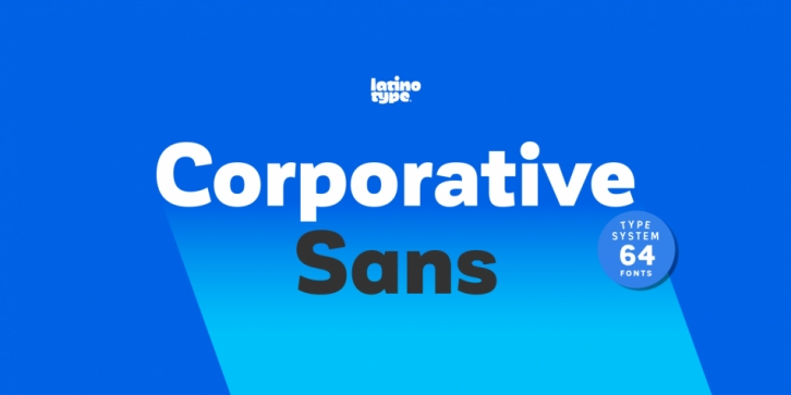 Corporative Sans font preview
