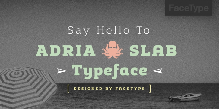 Adria Slab font preview