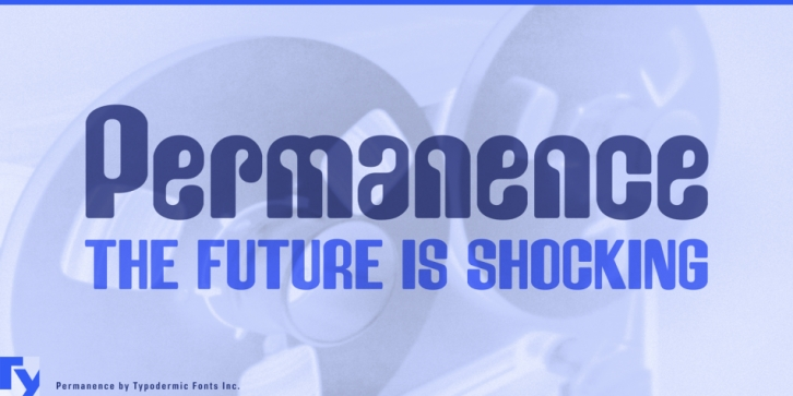Permanence font preview