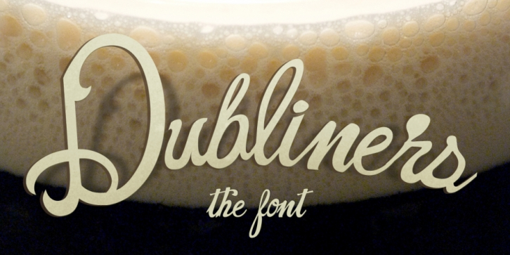 Dubliners font preview