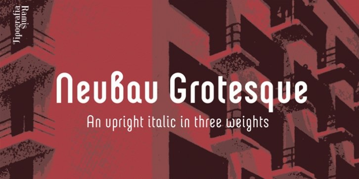 Neubau Grotesque font preview