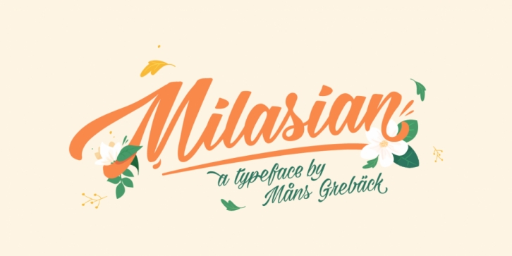 Milasian font preview