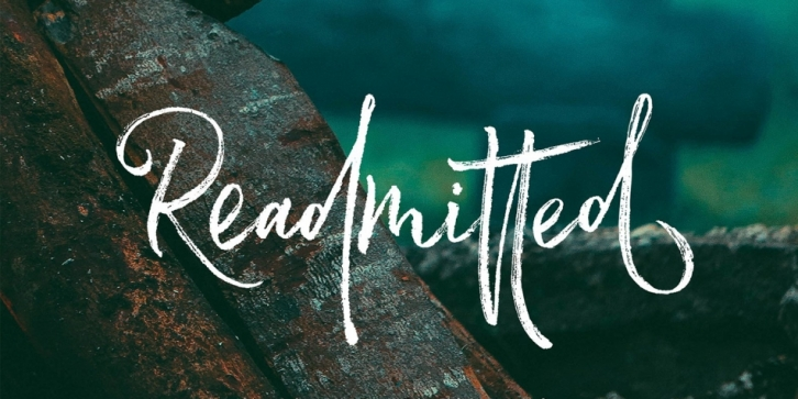 Readmitted font preview